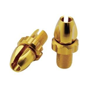 GIZA PRODUCTS(ギザプロダクツ) YBR00402 ブレーキ レバー マイクロ アジャスター ゴールド