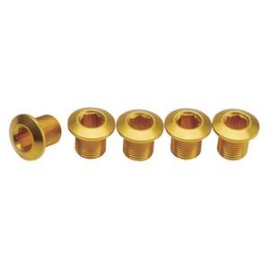 GIZA PRODUCTS(ギザプロダクツ) YCK00302 チェーンリング フィキシング ボルト (インナー用) ゴールド
