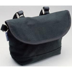 GIZA PRODUCTS(ギザプロダクツ) BAG28400 キャンバス ハンドルバー バッグ 2.1L ブラック
