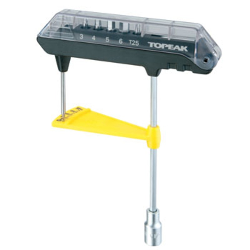TOPEAK(トピーク) コンボトルクレンチ&ビットセット TOL23500
