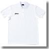 アシックス(asics) XA6132 ポロシャツ SS 01(ホワイト)
