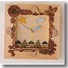 アウトドア&フィッシング ナチュラムエーワン 自分で作る!時計 新 森の物語時計 A99N