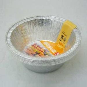 エーワンアルミ焼き肉タレ皿5枚入 径12.7×深さ4.5cm