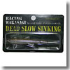 レーシングワカサギ デッドスローシンキング 98mm #233 クリアレイクマジック