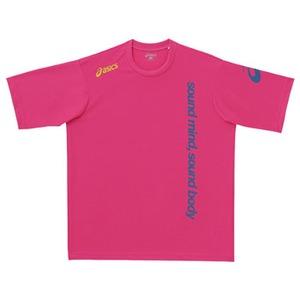 アシックス(asics) XA6171 Tシャツ M 18(ディープピンク)