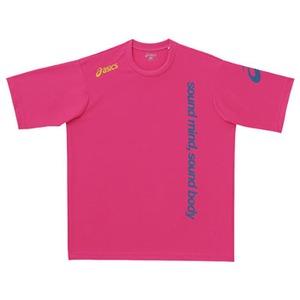 アシックス(asics) XA6171 Tシャツ S 18(ディープピンク)