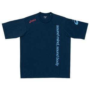 アシックス(asics) XA6171 Tシャツ M 50(ネイビー)