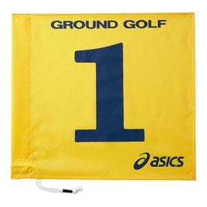 アシックス(asics) 旗1色タイプ 4 04(イエロー) GGG065