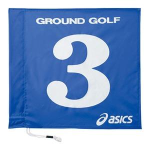 アシックス(asics) 旗1色タイプ 3 42(ブルー) GGG065