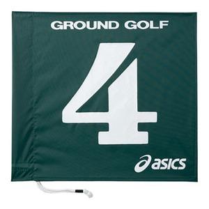アシックス(asics) 旗1色タイプ 4 80(グリーン) GGG065
