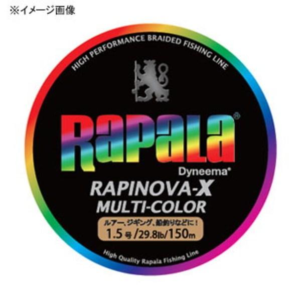 Rapala(ラパラ) ラピノヴァ・エックス マルチカラー 150m RXC150M12MC オールラウンドPEライン