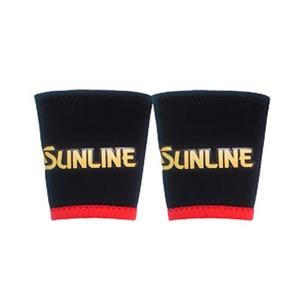 サンライン(SUNLINE) リストバンド(サンラインマーク) M ブラック SUN-1102