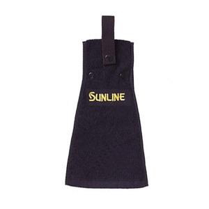 サンライン(SUNLINE) タオル ブラック TO-100