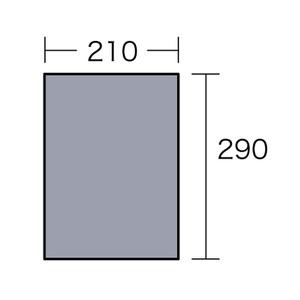 ogawa(小川キャンパル) PVCマルチシート 300×220用 1403