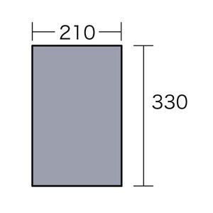 ogawa(キャンパルジャパン) PVCマルチシート 340×220用 1404