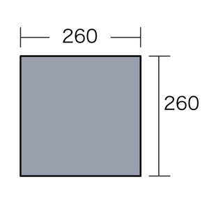 ogawa(小川キャンパル) PVCマルチシート 270×270用 1405