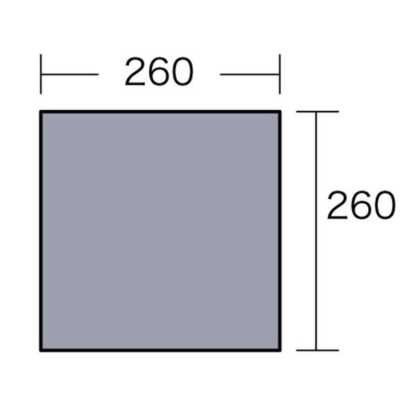 ogawa(キャンパルジャパン) PVCマルチシート 270×270用 1405 グランドシート