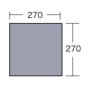 小川キャンパル(OGAWA CAMPAL)PVCマルチシート 280×280用