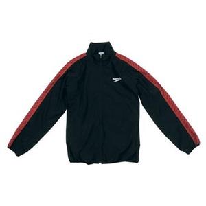 【送料無料】SPEEDO(スピード) GW-SD12F10 モノグラム ウインドジャケット Men's S K(ブラック)