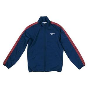 【送料無料】SPEEDO(スピード) GW-SD12F10 モノグラム ウインドジャケット Men's M NB(ネイビーブルー)