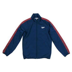 【送料無料】SPEEDO(スピード) GW-SD12F10 モノグラム ウインドジャケット Men's S NB(ネイビーブルー)