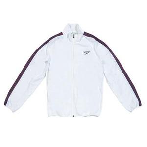【送料無料】SPEEDO(スピード) GW-SD12F10 モノグラム ウインドジャケット Men's XO W(ホワイト)