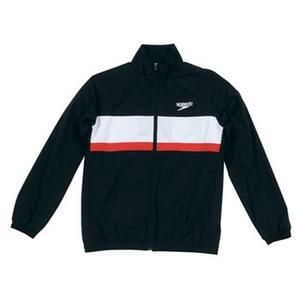 【送料無料】SPEEDO(スピード) GW-SD12F11 カラーブロック ウインドジャケット Men's L K(ブラック)