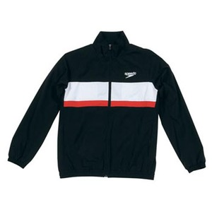 【送料無料】SPEEDO(スピード) GW-SD12F11 カラーブロック ウインドジャケット Men's M K(ブラック)