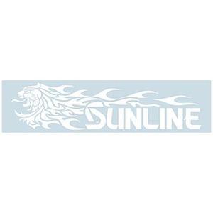 サンライン(SUNLINE)獅子ファイヤーステッカー