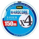 デュエル(DUEL) HARDCORE X4(ハードコア エックスフォー) 150m H3275-W オールラウンドPEライン