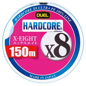 デュエル(DUEL) HARDCORE X8(ハードコア エックスエイト) 150m 1.2号/27lb ホワイト H3297-W