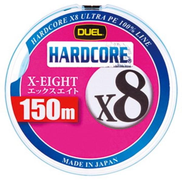 デュエル(DUEL) HARDCORE X8(ハードコア エックスエイト) 150m H3298-W オールラウンドPEライン