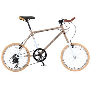 【送料無料】ドッペルギャンガー(DOPPELGANGER) 260 Parceiro(パルセイロ) 【20インチ 折りたたみ自転車】 20インチ ブロンズグレイxアルペンホワイト 260-GY