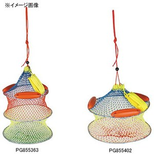 OGK(大阪漁具) パイレンワイヤー巻スカリ PG855362 活かしクーラー・スカリ