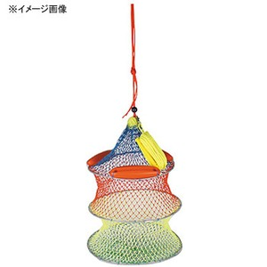 OGK(大阪漁具) パイレンワイヤー巻スカリ 3段 PG855703 活かしクーラー・スカリ
