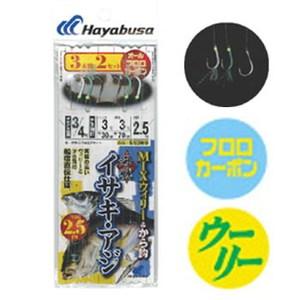 ハヤブサ(Hayabusa) 海戦イサキ・アジ MIXウィリー&から鈎 SE369