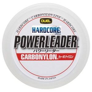 デュエル(DUEL) HARDCORE POWERLEADER CN 50m 4号/16lb クリアー H3327