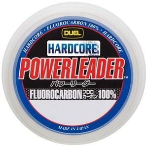 デュエル(DUEL) HARDCORE POWERLEADER FC 50m 8号/30lb ナチュラルクリアー H3342