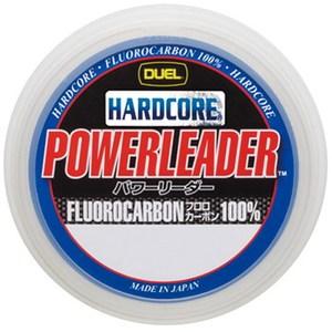 デュエル(DUEL) HARDCORE POWERLEADER FC 50m 14号/50lb ナチュラルクリアー H3344
