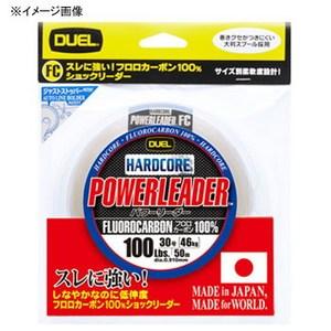 デュエル(DUEL) HARDCORE POWERLEADER FC 50m 16号/60lb ナチュラルクリアー H3345