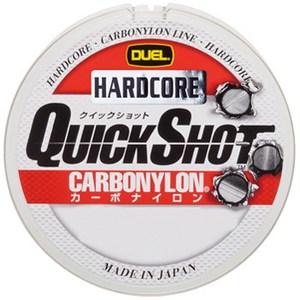 デュエル(DUEL) HARDCORE QUICK SHOT CN 150m H3350 ブラックバス用ナイロンライン