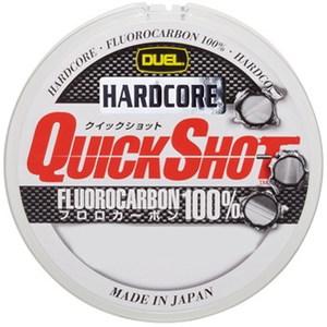 デュエル(DUEL) HARDCORE QUICK SHOT FC 150m H3353 ブラックバス用フロロライン