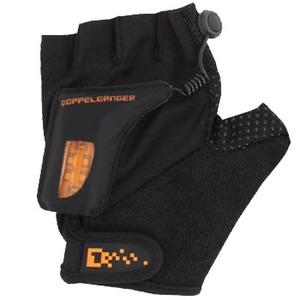 ドッペルギャンガー(DOPPELGANGER) DA050GL LEDグローブライト M ブラックxオレンジ