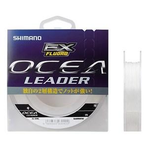 シマノ(SHIMANO) CL-O26L OCEA Leader EX Fluoro(オシア リーダー EX フロロ) 30m CL-O26L クリア 25LB 6