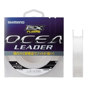 シマノ(SHIMANO) CL-O36L OCEA Leader EX Fluoro(オシア リーダー EX フロロ) 50m CL-O36L クリア 60LB 18 ジギング用ショックリーダー