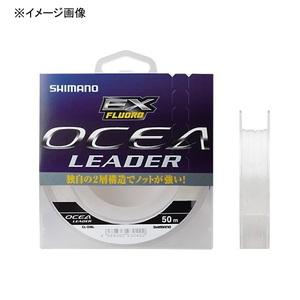 シマノ(SHIMANO) CL-O36L OCEA Leader EX Fluoro(オシア リーダー EX フロロ) 50m CL-O36L クリア 80LB 22