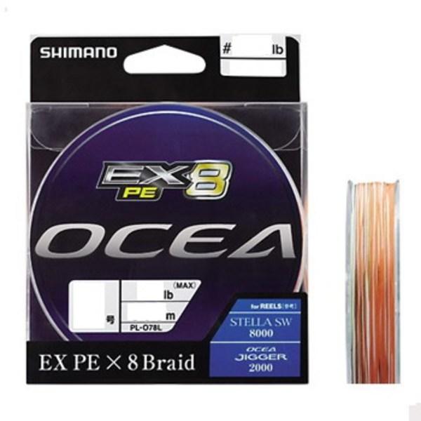 シマノ(SHIMANO) PL-O78L OCEA EX8 PE(オシア EX8 PE) 300m PL-O78L 5C 3 ジギング用PEライン