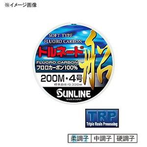 【送料無料】サンライン(SUNLINE) トルネード船 300m 14号 クリアxレッドマーキングxブラックマーキング