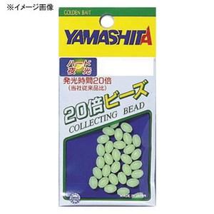 ヤマシタ(YAMASHITA) 20倍ビーズ ソフト 3.5号 F(夜光グリーン) 20BS35F