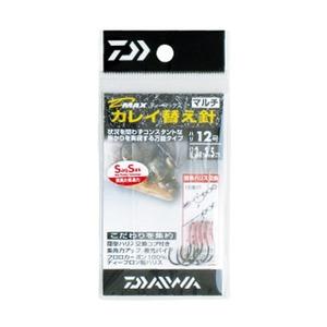 ダイワ(Daiwa) D-MAXカレイ 替え針(糸付き) SSマルチ ハリ12/ハリス3 07107392